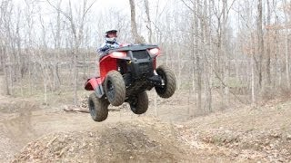 4. 2013 Polaris Sportsman 500 HO: Top Speed