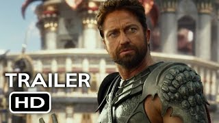 Gods of Egypt Official Trailer #1 (2016) Gerard Butler Fantasy Movie HD