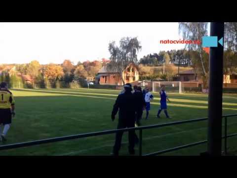 Bitka na fotbale TJ Ledce vs FC Bezverov