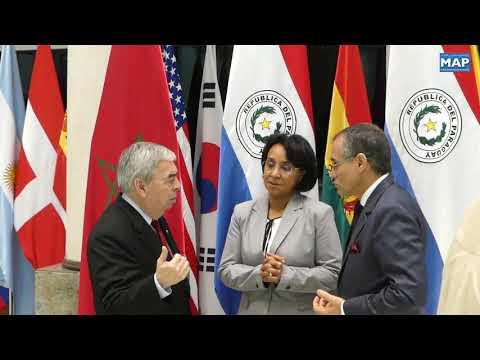 السيدة بوستة تتباحث بأسونسيون مع وزير خارجية الباراغواي