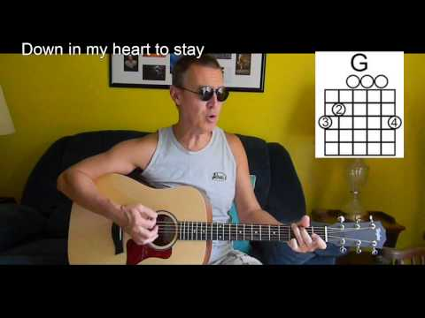 Down In My Heart With Lyrics/Chords - Gospel/Christian Guitar - P38