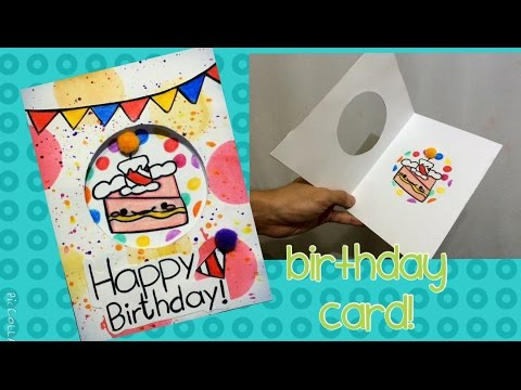 Tarjetas de cumpleaños - TARJETA DE CUMPLEAÑOS  Fácil - Consejosjavier