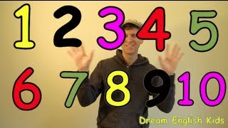 Numbers Song Let's Count 1-10 New Version