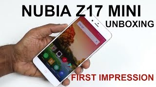 Nubia Z17 Mini comes with a dual camera setup at the rear. Here is the unboxing and first impression of the phone