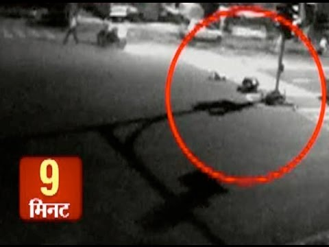 CCTV captures horrifying accident: Vinay kept suffering for 9 minutes on road