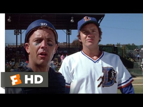 Bull Durham (1988) - Nuke Brings The Heat Scene (4/12) | Movieclips