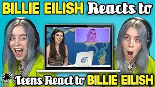 Video Billie Eilish Reacts To Teens React To Billie Eilish MP3, 3GP, MP4, WEBM, AVI, FLV September 2018