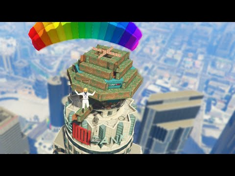 Insane Skyscraper Capture Mission (GTA 5 Funny Moments)