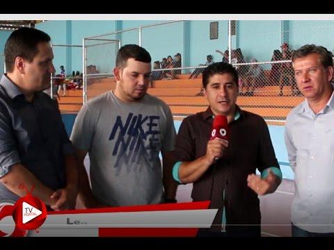 Inauguração da Quadra Poliesportiva de Rancho Alegre D'Oeste