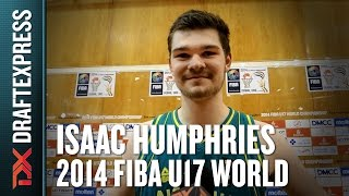 2014 Isaac Humphries Interview - DraftExpress - FIBA U17 World Championships