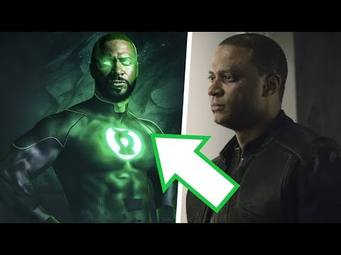 WOW! Diggle Green Lantern CONFIRMED for Arrow Series Finale! WTF is Going On!