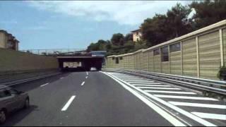Tengerparti autópálya Olaszország