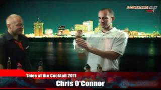 Flairbar.com Show with Chris O'Connor behind the bar @ Tales of the Cocktail 2011!