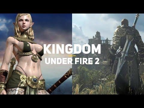 Самая дорогая ММО из Кореи! Kingdom Under Fire 2 | Первый взгляд