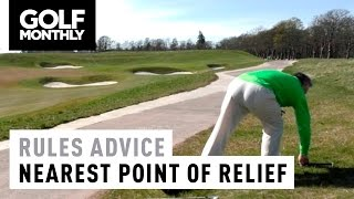 ► In this video Golf Monthly's Jeremy Ellwood and R&A Rules Assistant Director Kevin Barker explain how you should determine your nearest point of relief ► B...
