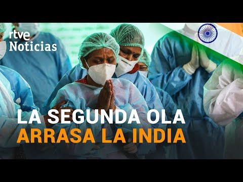 INDIA: Falta de VACUNAS y nuevo RÉCORD de muertes con 4.205 fallecidos | RTVE Noticias