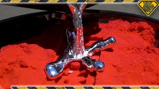 Video Casting Metal in Kinetic Sand (Oddly Satisfying?) MP3, 3GP, MP4, WEBM, AVI, FLV September 2018