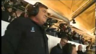 Jose Antonio Camacho jubelt über WM-Tor 2010