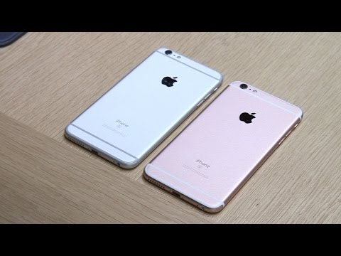 Apple iPhone 6S and iPhone 6S Plus hands on