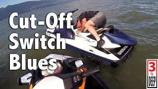 9. 2005 Sea-Doo GTX 185 4-TEC Cut-Off Switch Blues
