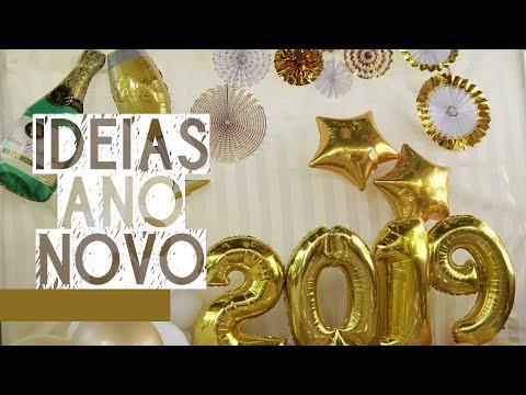 IDEIAS PARA DECORAÇÃO ANO NOVO / RÉVEILLON DIY