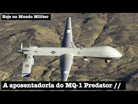 A aposentadoria do MQ-1 Predator