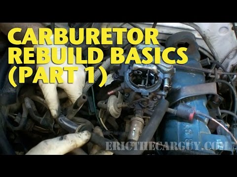 Basics - Carburetor Rebuild Basics covers the basics of rebuilding a carburetor. Now there are a LOT of different carburetors out there so this video won't apply to a...