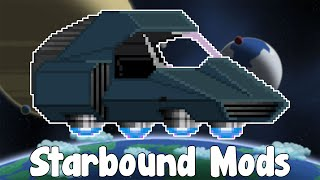 Hello everyone and welcome to Starbound Mods! Where we check out cool , interesting and helpful mods! Today we'll be looking at Human Hovercar , Ore ...