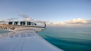 Learn how I manage to fly the Bonanza everywhere, and cover 3000 miles with 50 MPH winds, clouds, rain, and snacks. Part two: https://youtu.be/tiUTcgQ978Y ...