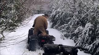 5. Polaris Sportsman 500 HO, Grizzly 600, Polaris Magnum 330
