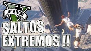 GTA V - PARACAIDISMO EXTREMO !! (Grand Theft Auto 5)