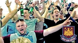 Bobby Moore Lower concourse big party! 🎉⚒🍻For the possible h8rs: Despite the twitter outrage, nothing bad actually happened there, nothing was destroyed, etc. Just a few beers spilt, creating a poodle due to the uneven floor. Anyway we had a good time there.Includes some rarely used chants.There is also a bit of footage from the Boleyn pub, after the game.