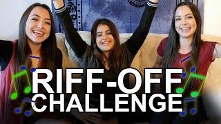 Video Riff-Off Challenge - Merrell Twins ft. Lauren Giraldo MP3, 3GP, MP4, WEBM, AVI, FLV Mei 2018