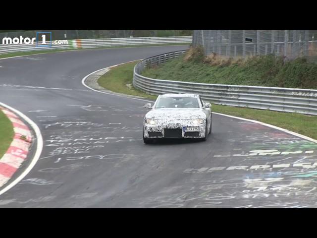 2018 Toyota Supra Spy Video