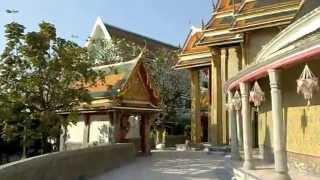 バンコク市内観光ワットラーチャボピット