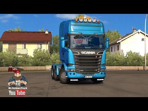 Real Scania R620 Open Pipe Sound