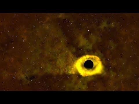 Черная дыра разорвала звезду, похожую на Солнце