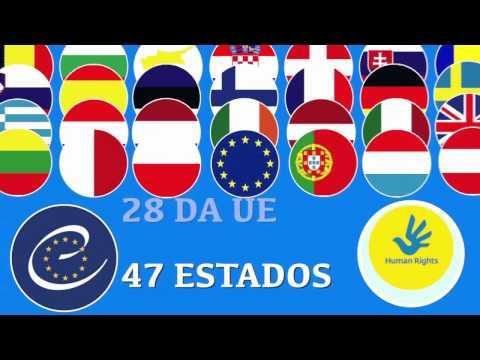 Minuto Europeu nº 4 - Conselho Europeu Vs Conselho da Europa