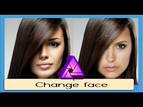 [Refined] Change Face using Erase brush in Affinity Photo