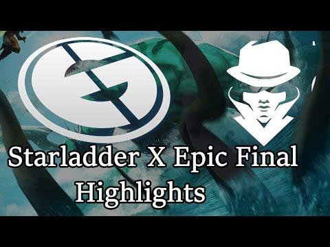 Highlights of EPIC Starladder final
