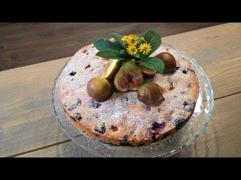 Fruit Cake (Made With A Variety Of Different Berries)