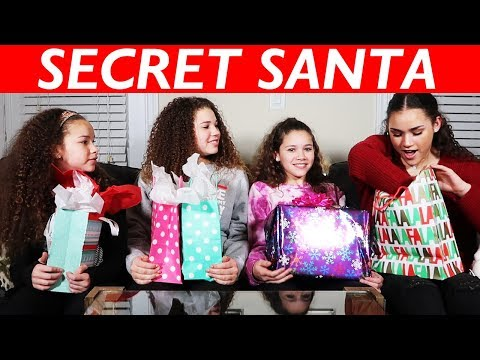 Secret Santa | Sister Edition! (Haschak Sisters)