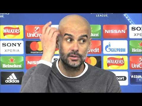 Manchester City 1-2 Liverpool (1-5) - Pep Guardiola Post Match Press Conference - Champions League