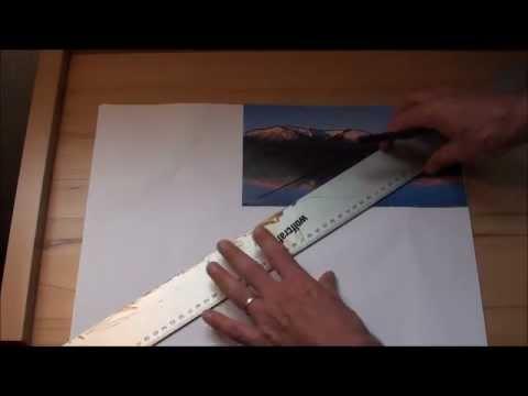 Tipps für Anfänger der Acrylmalerei (6): Bildvorlagen übertragen/vergrößern/verkleinern