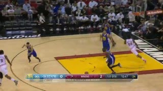 Golden State Warriors vs Miami Heat - February 24, 2016