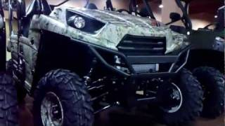 2. 2012 KAWASAKI TERYX 4 750 4X4 Walk Around/review