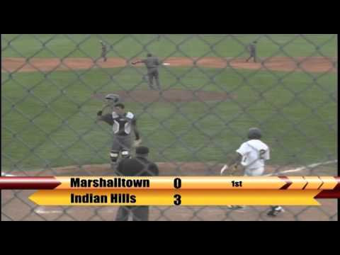 Video Replay: Marshalltown Baseball vs. Indian Hills (5/7/2016) Game 2
