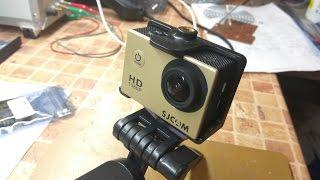 Камеру покупал тут: http://ali.pub/18a9sfДля экшн камеры звук у нее нормальный, особенно если умеешь пользоваться нормальным видео-редактором.Сейчас звук пишется очень громко, даже в 10-ти метрах от камеры. Пожалуй надо даже уменьшить коэффициент усиления чтобы убрать лишний шум.
