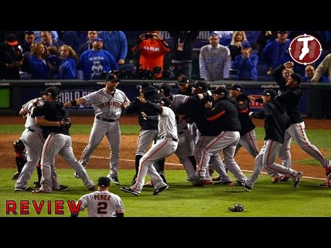 champions - San Francisco Giants Champions World series 2014 Wins Giants vs Royals [REVIEW] San Francisco Giants vs Kansas city Royals game 7 world series 2014 final last inning final out fly foul ball...