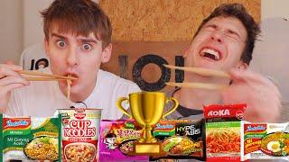 Video INDOMIE VS THE WORLD: Finding The BEST Instant Noodle!!!🍜 MP3, 3GP, MP4, WEBM, AVI, FLV Agustus 2019